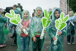 """Зеленый марафон 2016"" в Краснодаре ©Евгений Резник, ЮГА.ру"