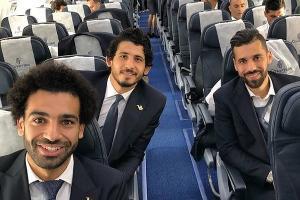 Сборная Египта по футболу ©Фото из микроблога Egypt National Football Team в Twitter, twitter.com/Pharaohs