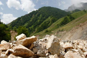 В Кабардино-Балкарии ремонтируют дороги после паводка ©Фото Влада Александрова, Юга.ру