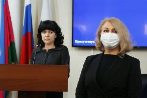 Ирина Романец ©Фото пресс-службы администрации Краснодара