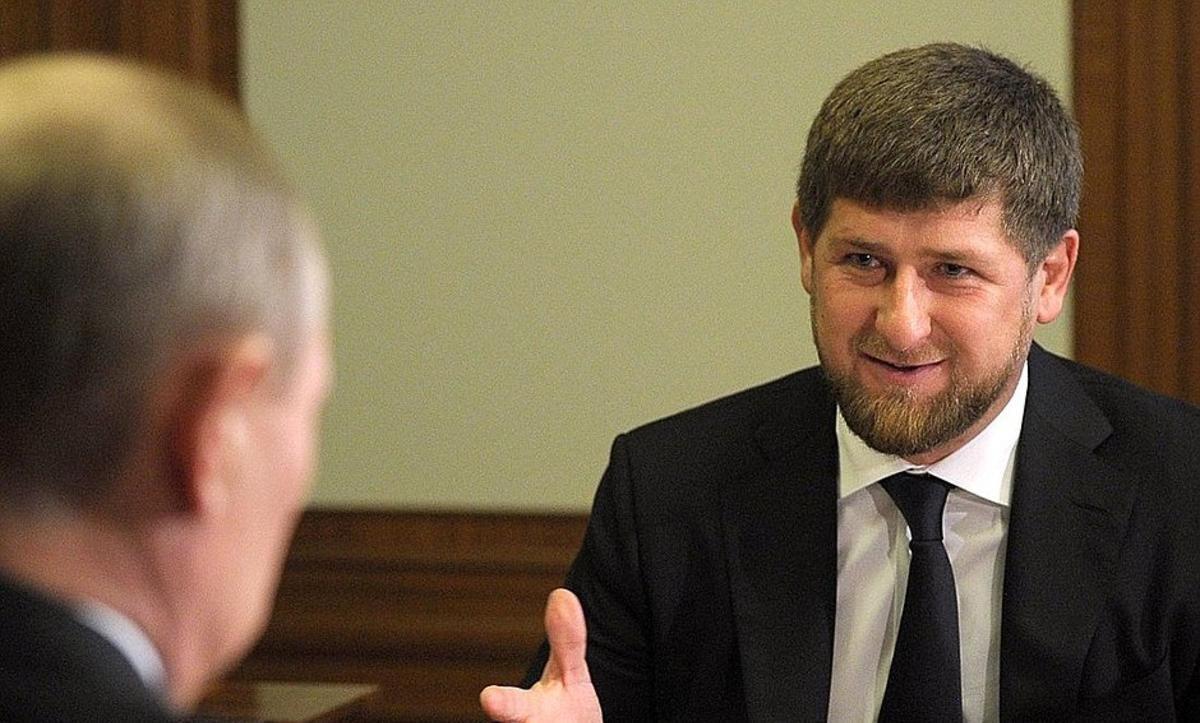 Рамзан Кадыров ©Фото пресс-службы Кремля