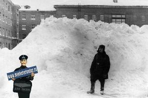 Улица Гастелло. Зима 1954 года ©Фото с сайта myekaterinodar.ru