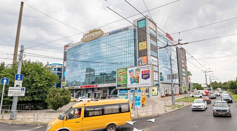 ТРЦ «Горизонт» в Краснодаре ©Фото «Яндекс.Карты», yandex.ru/maps