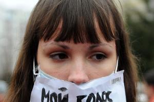 Митинг «За честные выборы» 24 декабря 2011 года в Краснодаре  ©Фото Елены Синеок, Юга.ру