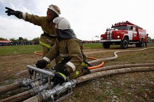 МЧС Кубани потушили условный пожар на нефтебазе ©Фото Влада Александрова, Юга.ру