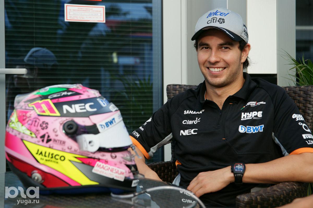 Серхио доволен, как и Force India в целом ©Фото Евгения Мельченко, Юга.ру