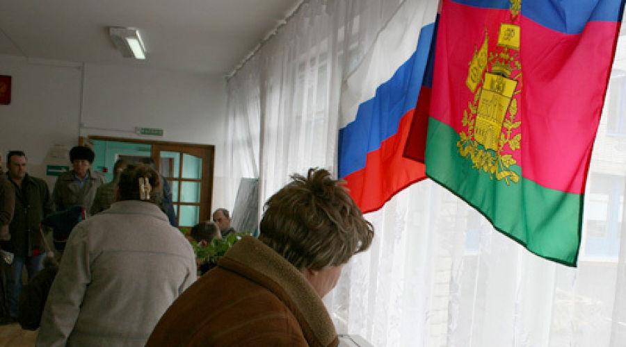 На избирательном участке ©Фото Юга.ру