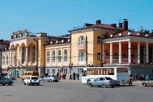 Железнодорожная станция Таганрог ©Фото пресс-службы СКЖД