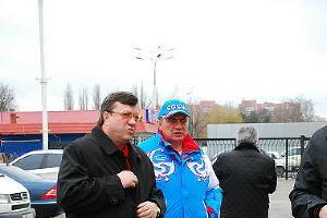 Отъезд делегации Краснодарского края на Олимпиаду в Ванкувер ©Фото Юга.ру