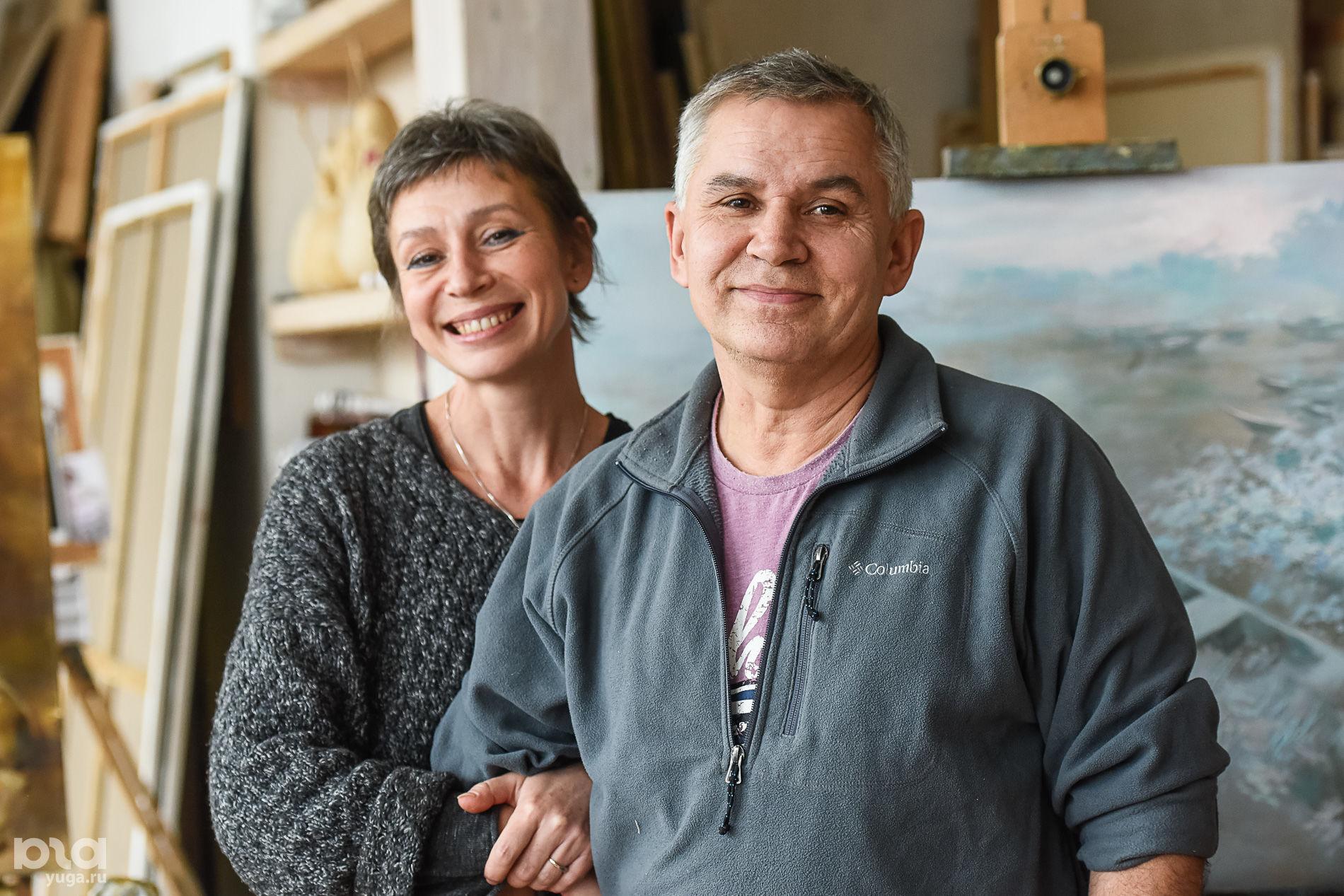 Инна и Валерий Цукахины ©Фото Елены Синеок, Юга.ру