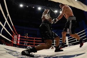 Рой Джонс-младший защитил чемпионский пояс в Краснодаре ©Михаил Ступин, ЮГА.ру