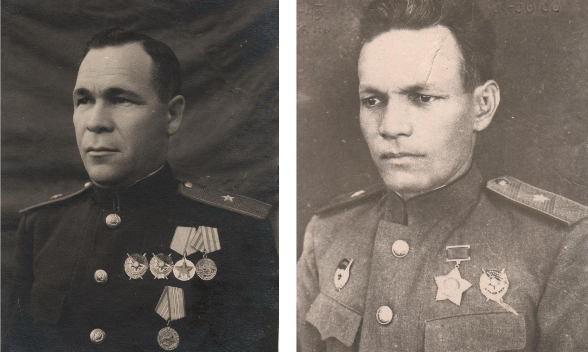 Петр Метальников и Борис Аршинцев ©Фото с сайта waralbum.ru