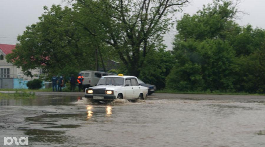 Потоп в Лабинске ©Фото Юга.ру