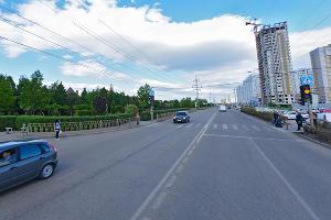 Улица Солнечная ©Скриншот панорамы карт Яндекса