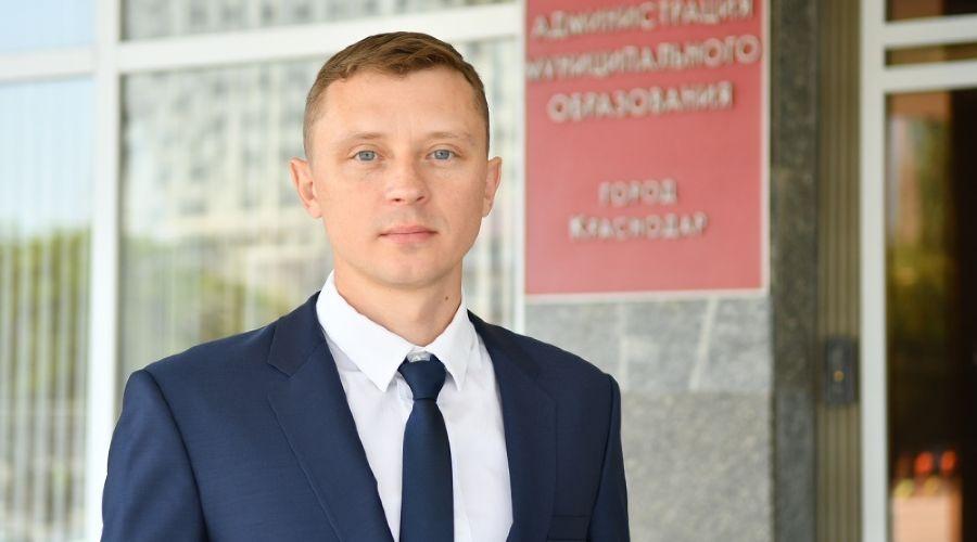 Виталий Казликин ©Фото пресс-службы администрации Краснодара