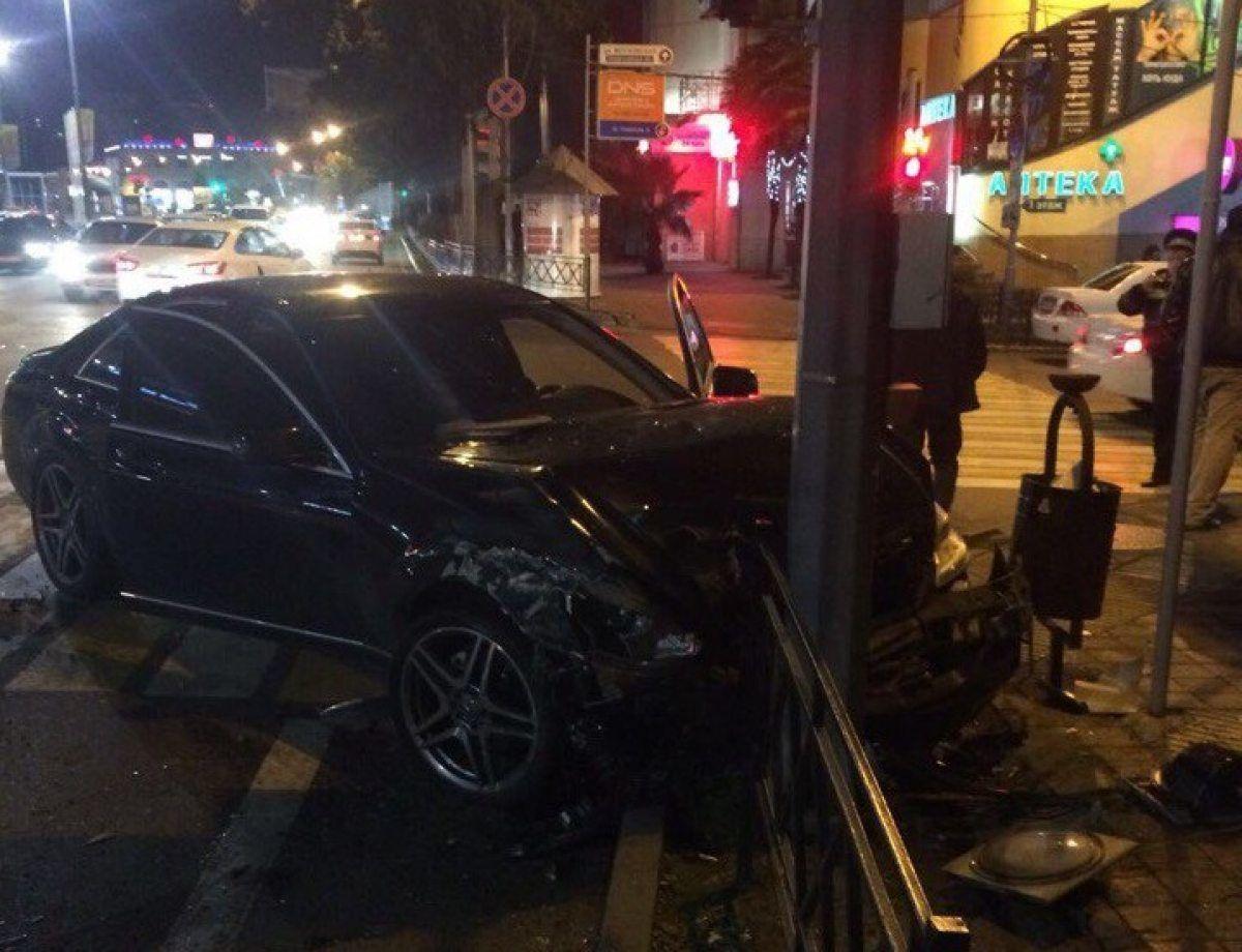Три человека пострадали врезультате дорожно-траспортного происшествия вСочи
