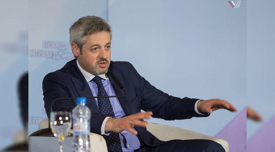 Павел Зенькович на Медиафоруме независимых региональных и местных СМИ ©пресс-служба ОНФ