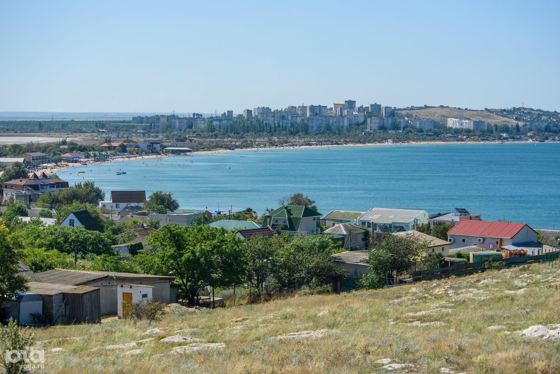 Щелкино — самый молодой крымский город. В конце 80-х тут жили 25 тыс. человек, сейчас — только 10 тысяч ©Фото Дмитрия Андреева, Юга.ру