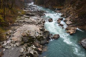 Река Белая. Адыгея ©Елена Синеок, ЮГА.ру