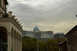На автомобиле в Грузию. Тбилиси ©Фото Евгения Мельченко, Юга.ру