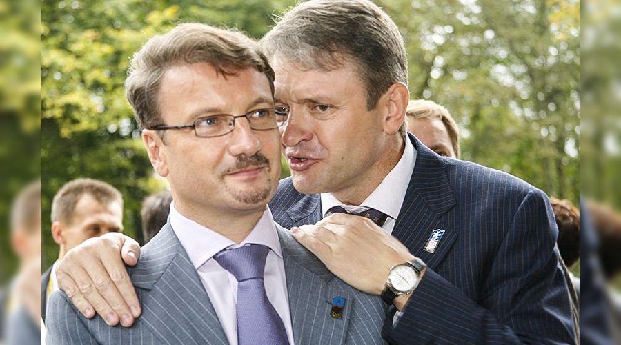 Герман Греф и Александр Ткачев ©https://crimerussia.ru