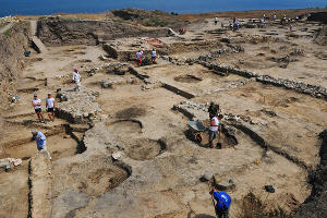 Археологические раскопки в Фанагории ©Елена Синеок, ЮГА.ру