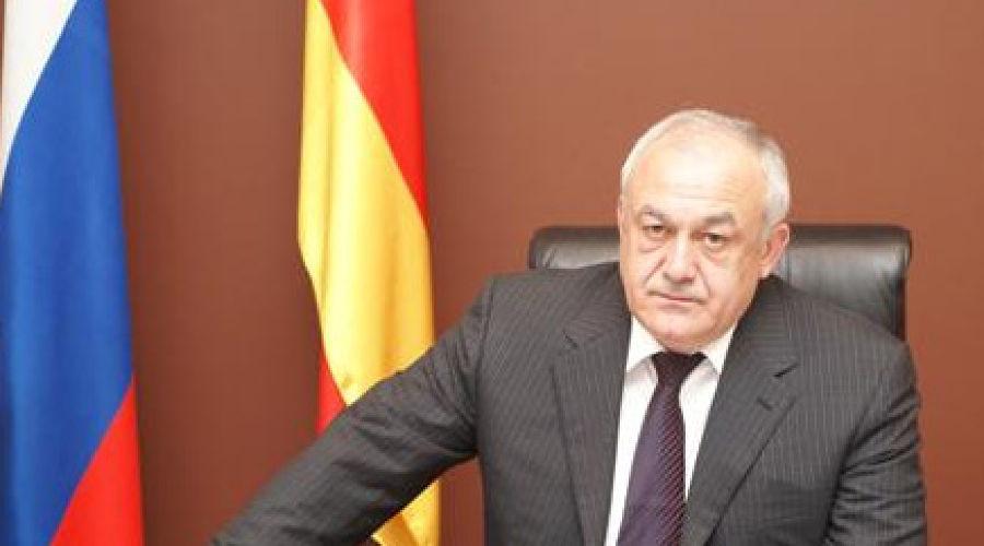 Таймураз Мамсуров. Фото: пресс-служба президента РСО-Алания ©Фото Юга.ру
