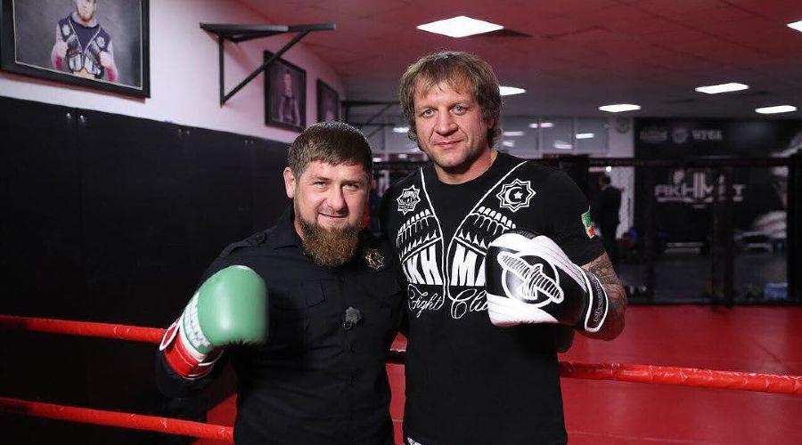 Рамзан Кадыров и Александр Емельяненко ©Фото из аккаунта instagram.com/alexemelyanenko