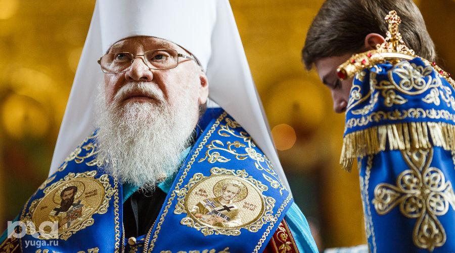 Митрополит Исидор ©Фото Михаила Чекалова, Юга.ру