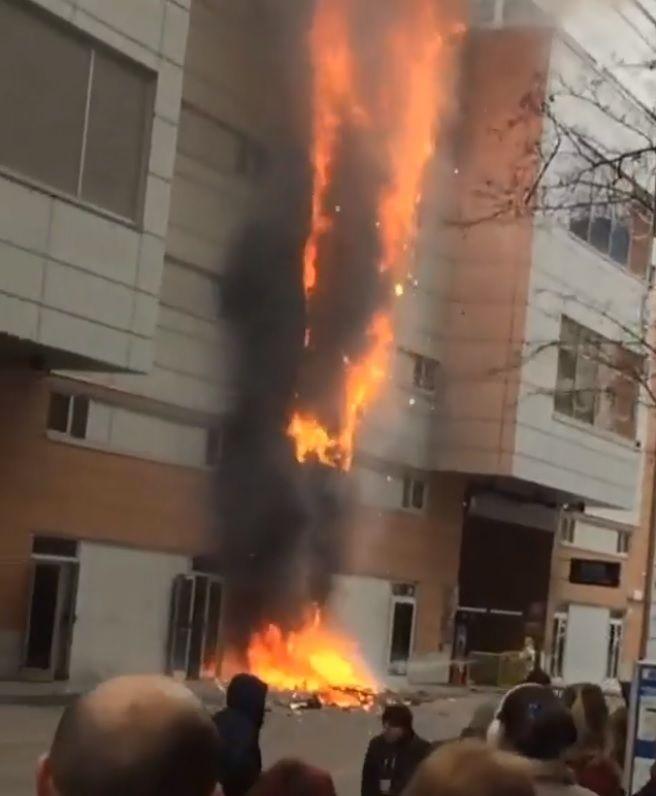 ВКраснодаре зажегся ТЦ «Галерея», посетители эвакуированы