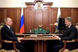 Владимир Путин и Александр Ткачев ©Фото с сайта kremlin.ru