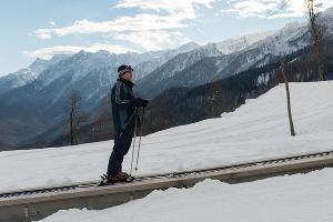 Открытие горнолыжного сезона в Сочи ©Нина Зотина, ЮГА.ру