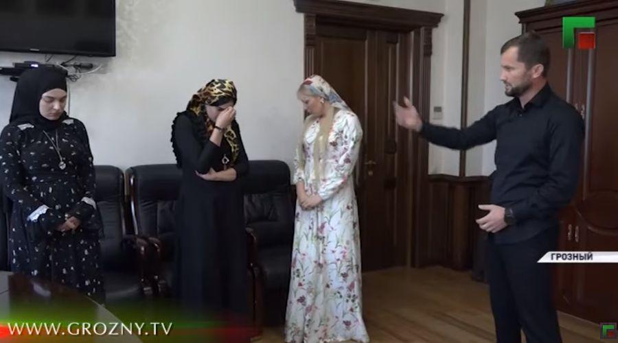 ©Скриншот видео ЧГТРК «Грозный»