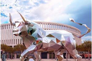 Дизайн проект скульптуры «Бык» ©Фото instagram.com/marta_kandr