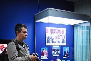 """Открытие экспозиции """"Олимпийские игры 2012 в Лондоне"""" в музее им.Фелицына ©Елена Синеок, ЮГА.ру"""