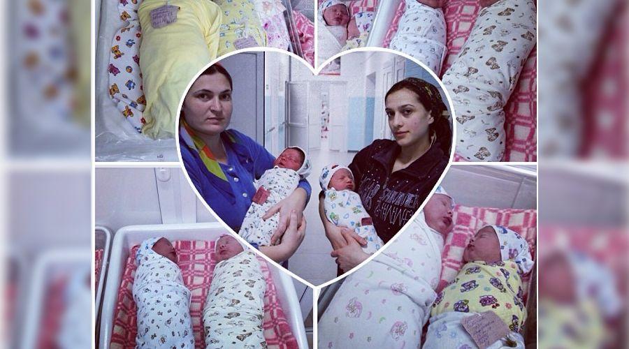 Новорожденные в Чечне ©Фото instagram.com/kadyrov_95