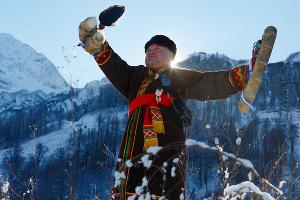 Шаман Иргаш ©Фото пресс-службы «Курорта Красная Поляна»