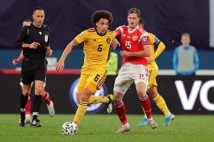 Матч отбора на Евро-2020 Россия — Бельгия ©Фото пресс-службы Российского футбольного союза