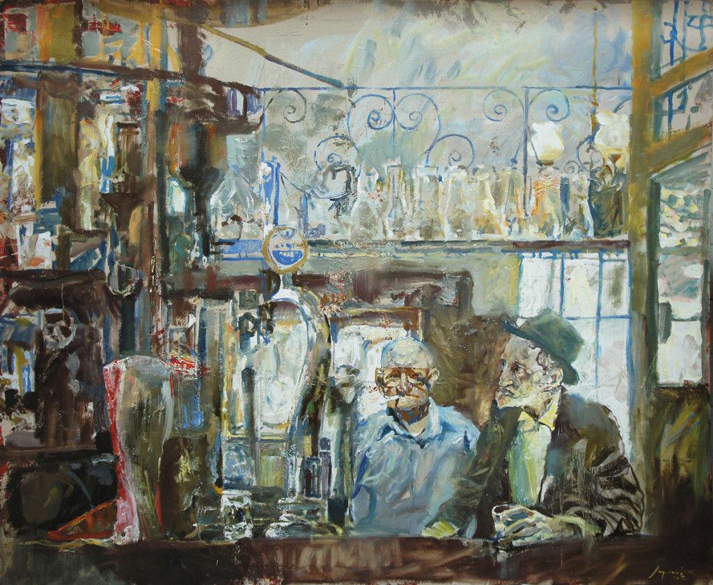 """""""Два старика в баре"""", Константин Лупанов ©Фото Юга.ру"""