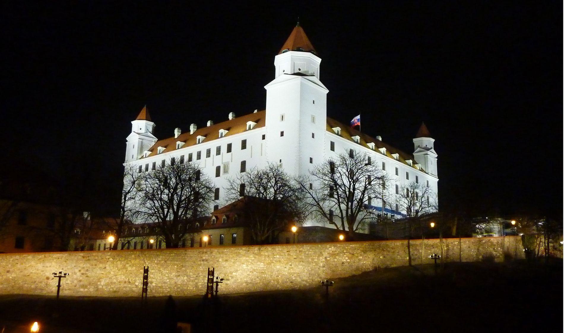 Братиславский град ©Фото с сайта commons.wikimedia.org