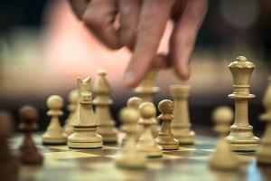Крамник и Трегубов провели сеанс одновременной игры в шахматы в Краснодаре  ©Елена Синеок, ЮГА.ру