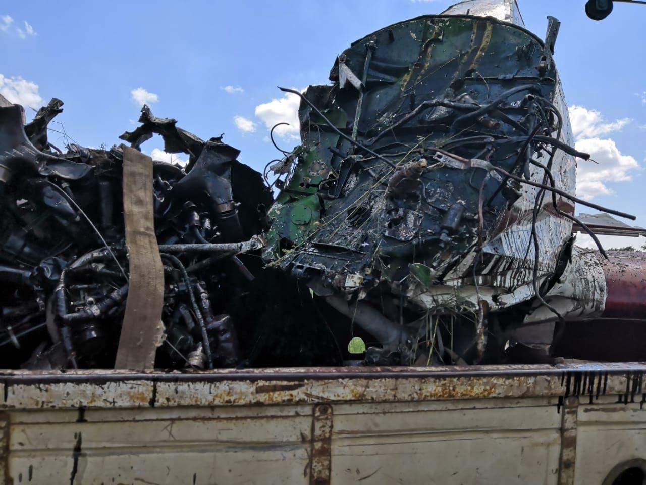 Авария самолета Як-52 ©Фото пресс-службы Южного СУT СК России