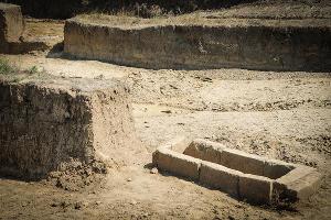 Археологические раскопки в Фанагории. Некрополь ©Елена Синеок, ЮГА.ру