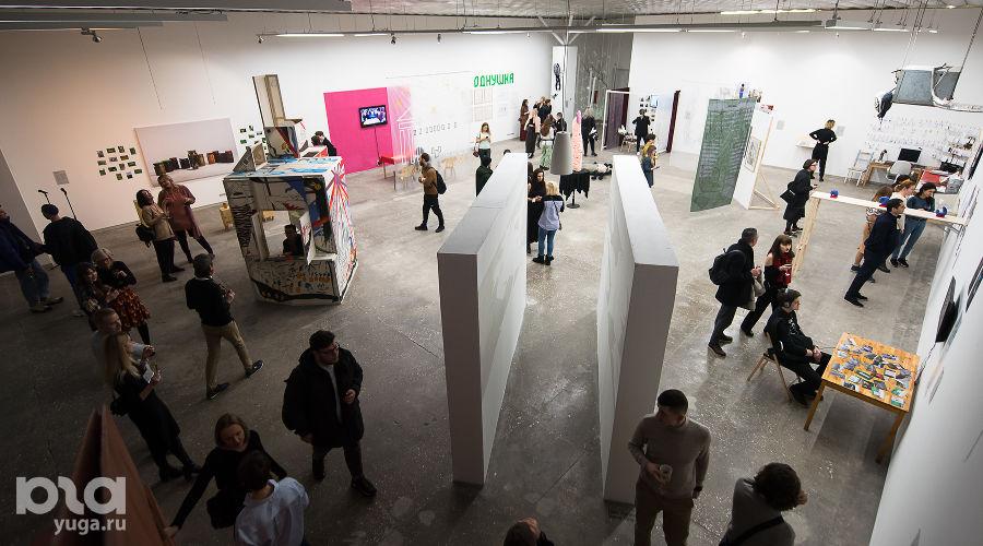 Открытие обновленного Центра современного искусства «Типография» на ЗИПе ©Фото Елены Синеок, Юга.ру
