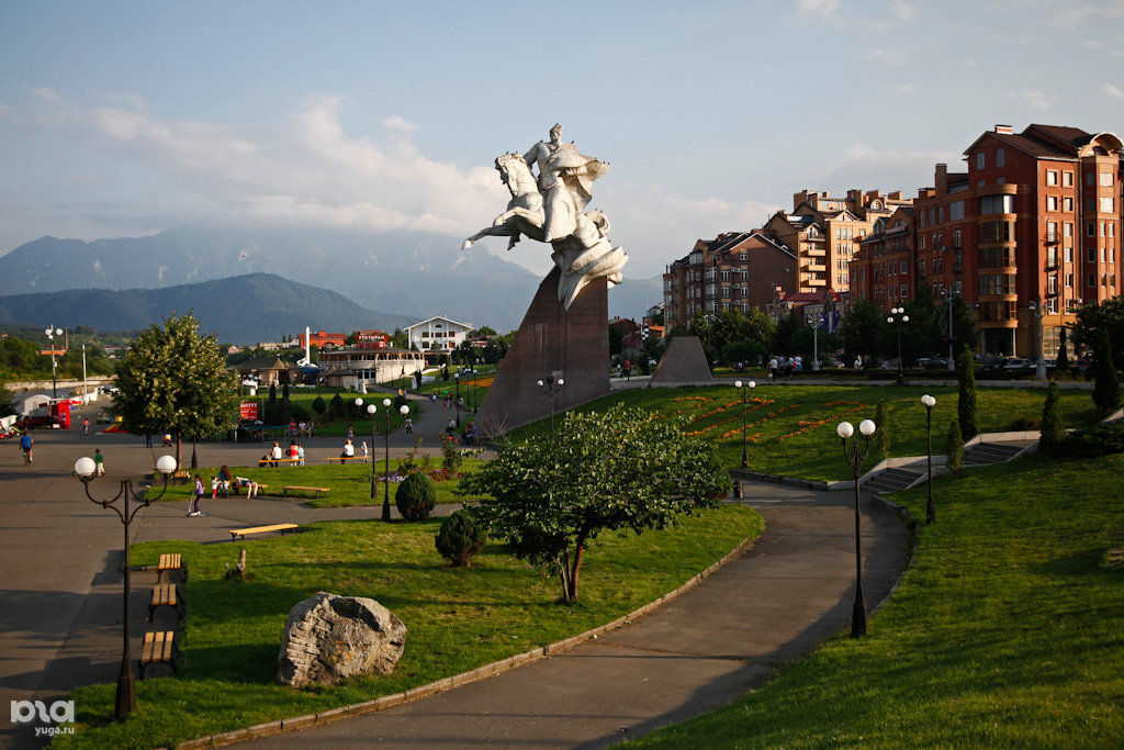 Владикавказ. Столица Северной Осетии ©Фото Влада Александрова, Юга.ру