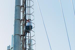 """Телеком-экспедиция """"МегаФон на высоте"""" ©Фото Юга.ру"""