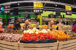 Открытие супермаркета «Перекресток» после реконструкции  ©Фото Виктора Клюшкина, Юга.ру