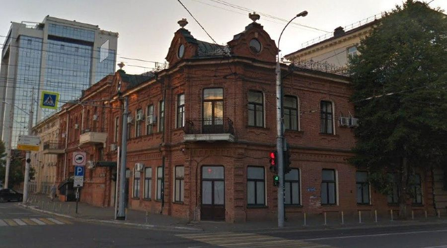 Дом на улице Мира, 41 в Краснодаре ©Скриншот страницы сайта www.google.ru/maps