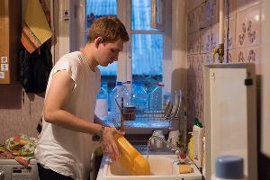 Валера на занятии в тренировочной квартире ©Фото Елены Синеок, Юга.ру