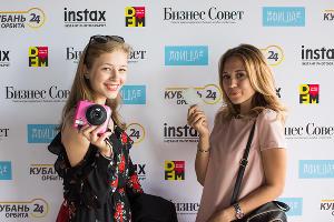 Презентация новой фотокамеры Instax SQ10 в Краснодаре ©Фото Елены Синеок, Юга.ру